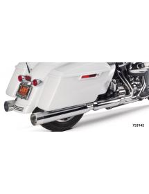 SILENCIEUX D'ÉCHAPPEMENT TWO BROTHERS RACING chromés pour 2017 au présent Harley Touring 753141 Catalogue Zodiac - Pièces et ...