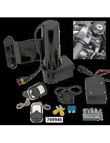 749945 POTS MCJ REGLABLES HOMOLOGUES Moteur de réglage électrique optionnel avec une télécommande - 2017 au présent Sportster...