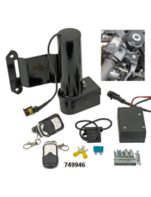 749947 POTS MCJ REGLABLES HOMOLOGUES Moteur de réglage électrique optionnel avec une télécommande - Softail 2017 européens Ec...