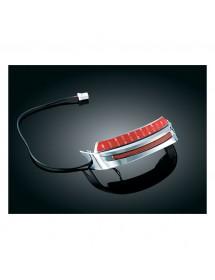 8644 Enjoliveur de garde boue Kuryakyn avec lumière LED rouge Catalogue