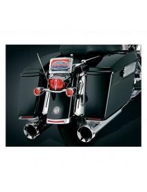 Enjoliveur de garde boue Kuryakyn avec lumière LED rouge 8644 Catalogue Zodiac - Pièces et accessoires pour Harley-Davidson