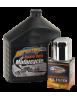 Kit vidange moteur pour Big Twin Evolution et Sportster filtre chromé 740652 Catalogue Zodiac - Pièces et accessoires pour Ha...