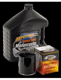 Kit vidange moteur pour Big Twin Evolution et Sportster filtre noir 740653 Catalogue