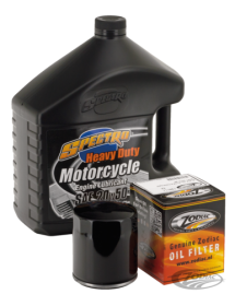 Kit vidange moteur pour Twin Cam 1999-2017 avec filtre noir 740651 Catalogue