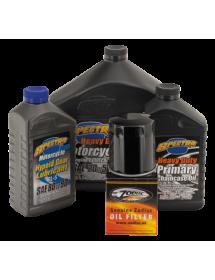 740657 Kit vidange totale pour 1999-2017 Twin Cam avec filtre noir Catalogue