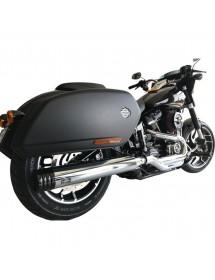 Silencieux d'échappement MCJ réglable homologué 749896 Catalogue Zodiac - Pièces et accessoires pour Harley-Davidson