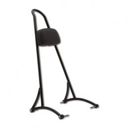 Sissy bar Burly noir haut avec dosseret pour modèles 2006 à 2017 Dyna sauf FXDWG Wide Glide et FXDF Fat Bob 759981 Catalogue...