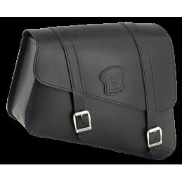 Sacoche de cadre Texas Leather large pour Sportster 2004 au présent 757037 Catalogue Zodiac - Pièces et accessoires pour Harl...