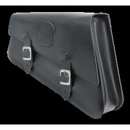 Sacoche latérale Texas Leather pour Sportster Noire avec boucles mattes 756981 Catalogue Zodiac - Pièces et accessoires pour ...