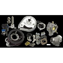 Kit de conversion d'injection en carburateur S&S pour 2006-2017 Twin Cam 795010 Catalogue Zodiac - Pièces et accessoires pour...