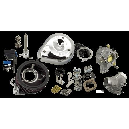 Kit de conversion d'injection en carburateur S&S pour 2006-2017 Twin Cam
