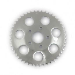 Couronne arrière chromée 51 dents (OEM 41470‑73T) 201452 Catalogue Zodiac - Pièces et accessoires pour Harley-Davidson