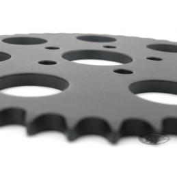 Couronne arrière noire 51 dents (OEM 41470‑73T) 201453 Catalogue Zodiac - Pièces et accessoires pour Harley-Davidson