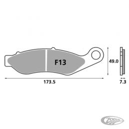 Plaquettes de frein avant SBS pour Tri-Glide 2014 au présent 236409 Catalogue
