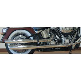 Silencieux MCJ réglables homologués Royal Chromés 749911 Catalogue Zodiac - Pièces et accessoires pour Harley-Davidson