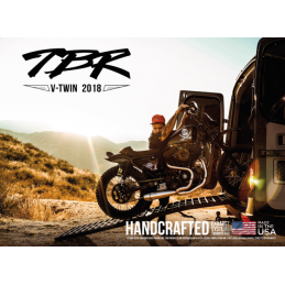 SILENCIEUX D'ÉCHAPPEMENT TWO BROTHERS RACING chromés avec sorties noires pour 1995 à 2016 Harley Touring 753109 Catalogue Zod...