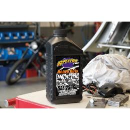 HUILE MOTEUR SPECTRO HEAVY DUTY SAE 25W60 745059 Catalogue Zodiac - Pièces et accessoires pour Harley-Davidson