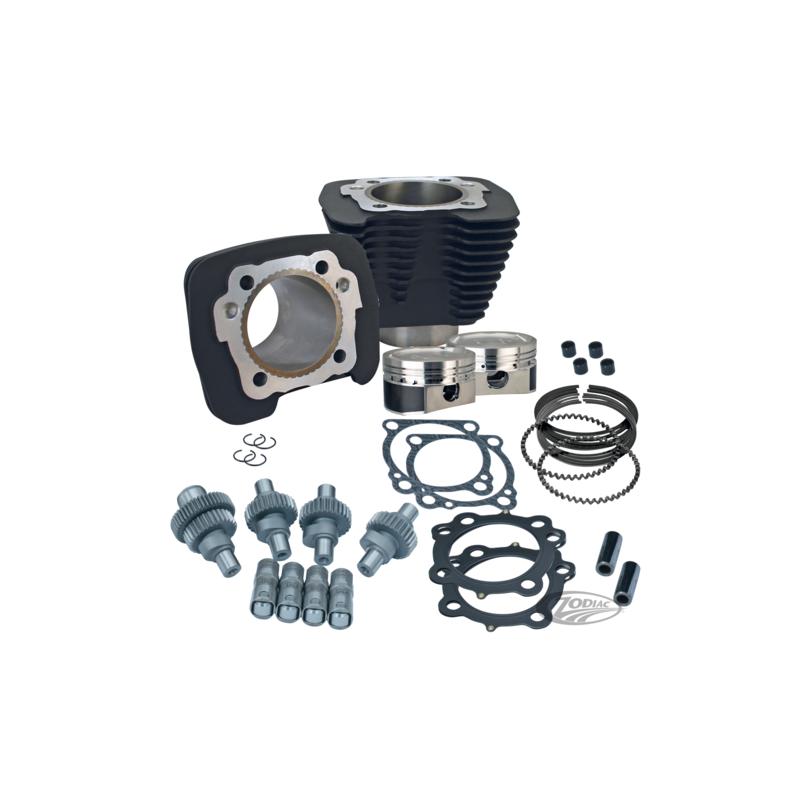 KIT S&S HOOLIGAN pour Sportster noir 782379 Catalogue Zodiac - Pièces et accessoires pour Harley-Davidson