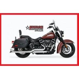 """Pots Freedom Performance Sharktail True Duals Chromés, 33"""" 737251 Catalogue Zodiac - Pièces et accessoires pour Harley-Davidson"""