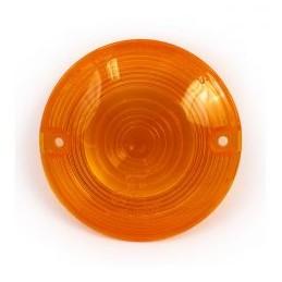 Cabochon de clignotant orange homologué CEE (OEM 68505-90) 160400 Catalogue Zodiac - Pièces et accessoires pour Harley-Davidson