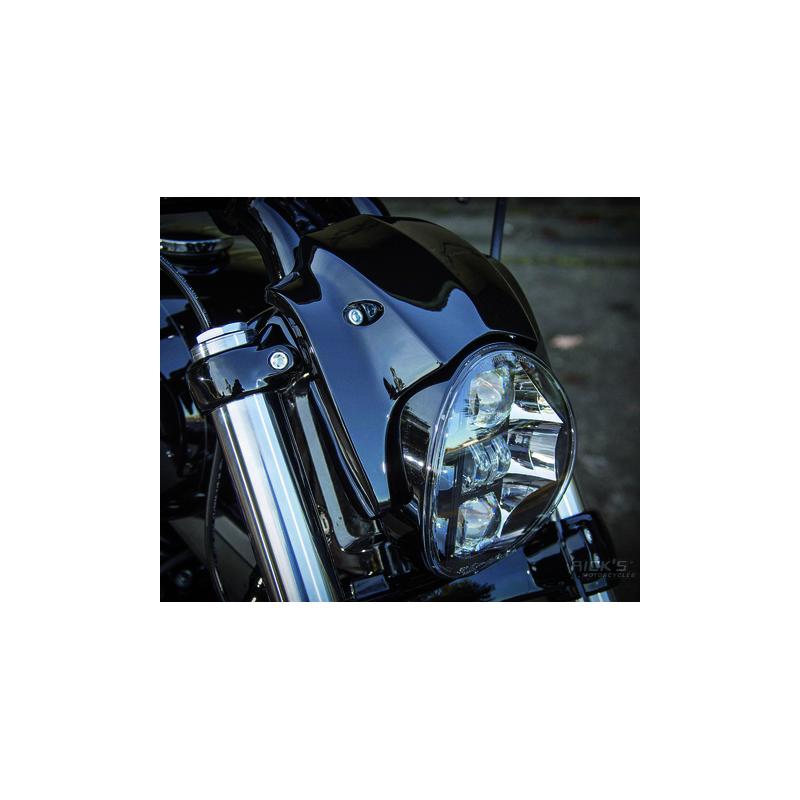 CASQUETTE DE PHARE RICK'S POUR BREAKOUT 741222 Catalogue Zodiac - Pièces et accessoires pour Harley-Davidson