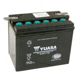 Batterie Yuasa stock YHD-12 (B) pour FL et FLH boite 4 de 1965-1984 avec démarreur et Sportster de 1967-1978 (OEM 66005-65A) ...