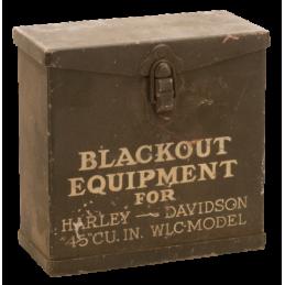 BOITE D'EQUIPEMENT BLACKOUT D'ORIGINE WLC 789889 Catalogue Zodiac - Pièces et accessoires pour Harley-Davidson