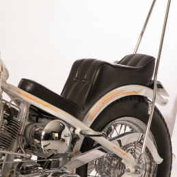Selle Le Pera Baron II diamond pour cadre rigide 232861 Catalogue Zodiac - Pièces et accessoires pour Harley-Davidson