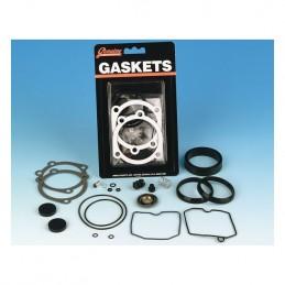 Kit de réparation James gasket pour le carburateur Kehin CV des Harley-Davidson (OEM 27006-88) 234441 Catalogue Zodiac - Pièc...