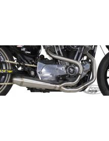 POTS TWO BROTHERS RACING 2-EN-1 Finition brute, Silencieux génération II - Pour 2014 au présent Sportster 753130 Echappements...
