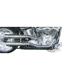733102 MEAN MOTHER FAT SHOTS PAR SUPERTRAPP Pour 1984-2011 Softail Echappements & Silencieux