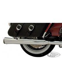 SUPERTRAPP FAT SHOT SLIP-ON POUR TOURING chromés, pour tous les 1995 au présent FLH & FLT avec moteur Evolution ou Twin Cam 2...