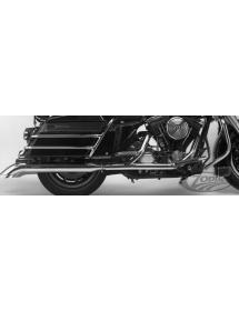 Jeu de silencieux Supertrapp chromés avec embout Turnout Renversés pour Harley Touring FLHS-FLHT-FLT 1995-2016 233159 Catalog...